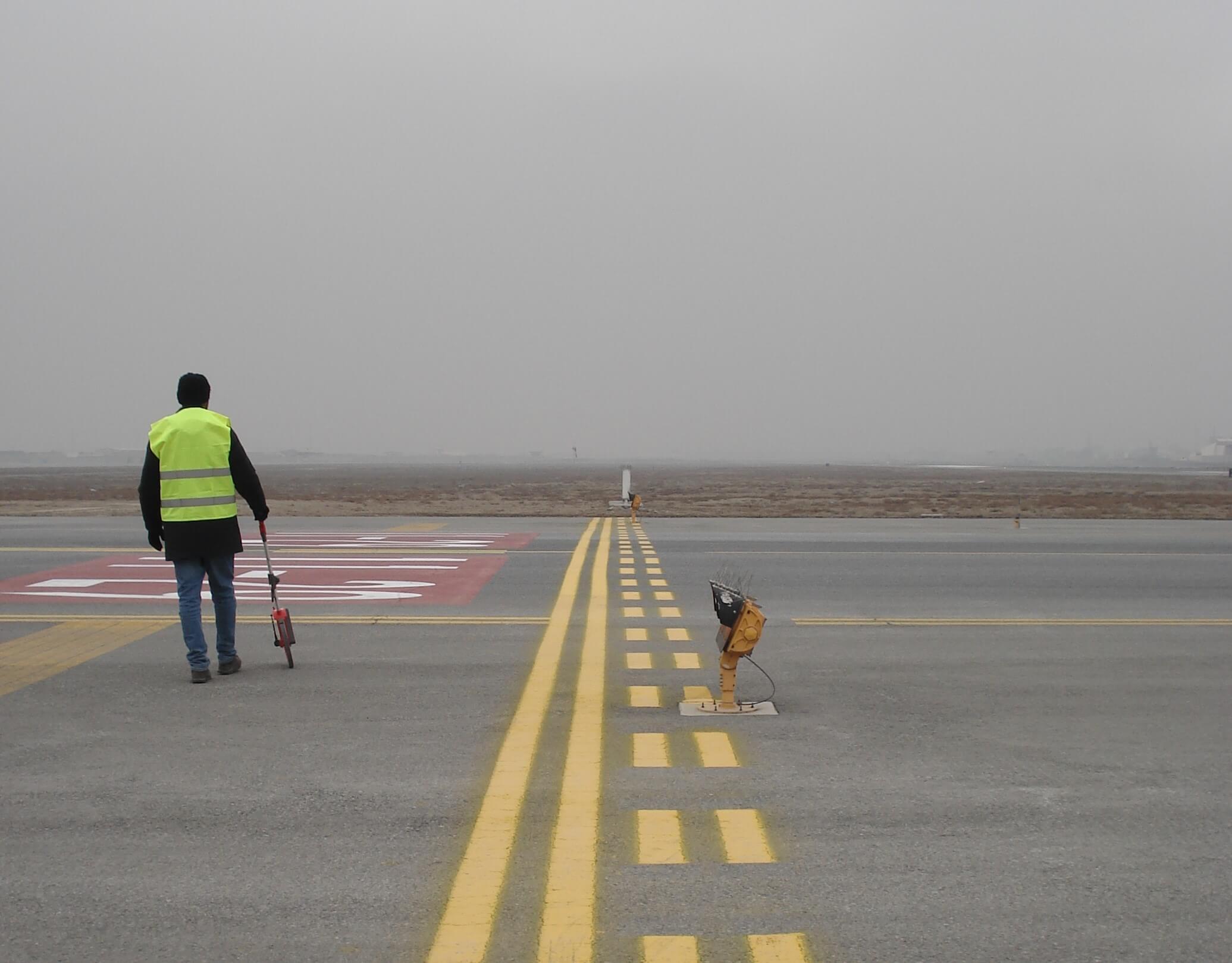 Impianti di illuminazione aereoporto militare internazionale HKIA, Kabul