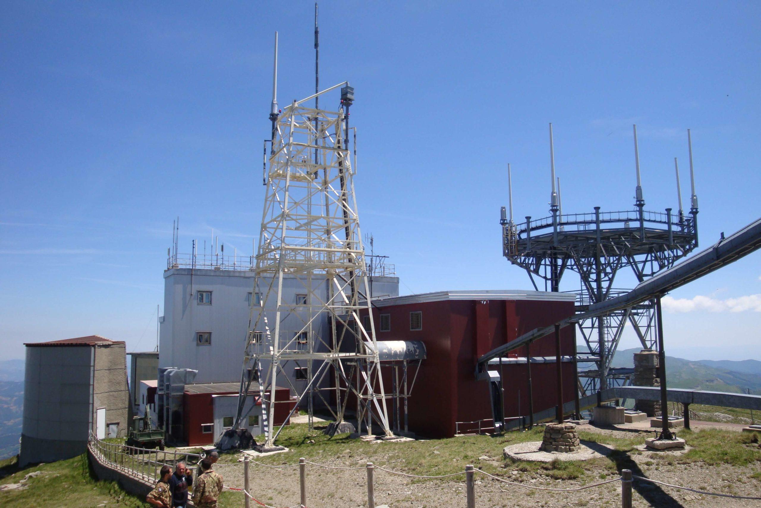 Progetto per la remotizzazione di 9 stazioni di comunicazione dell'Aereonautica Militare